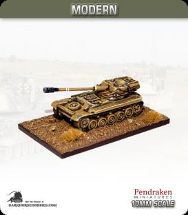 10mm Modern: AMX-13 with 90mm gun