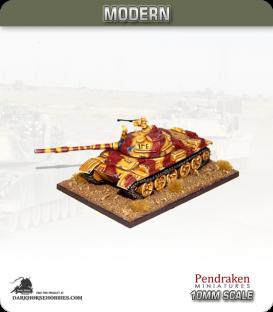 10mm Modern: T-62 Main Battle Tank