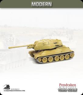 10mm Modern: Egyptian T-34/100 (T-100)
