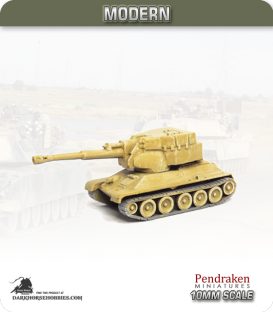 10mm Modern: Egyptian T-34/122 (T-122)