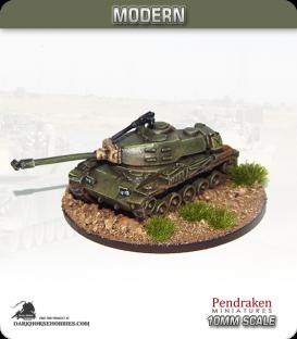 10mm Modern: M41 Walker Bulldog Light Tank