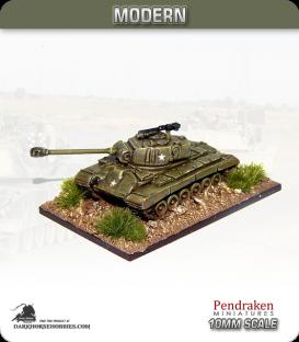 10mm Modern: M26 Pershing (90mm gun)