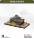 10mm World War II: British - M3 Stuart Honey tank (mid-war turret)