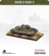 10mm World War II: British - Valentine tank (sand skirts)