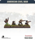 10mm American Civil War: Confederate Foot - Firing (type 1)