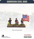 10mm American Civil War: Union Foot Command - Standing