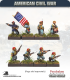 10mm American Civil War: Zouaves in Fez with Command - Standing/Firing