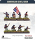10mm American Civil War: Zouaves in Kepi with Command - Standing/Firing