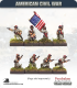 10mm American Civil War: Zouaves in Kepi with Command - Advancing/Attacking