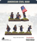 10mm American Civil War: Iron Brigade with Command