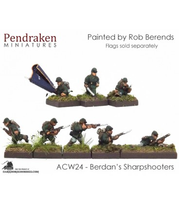 10mm American Civil War: Berdan's Sharpshooters