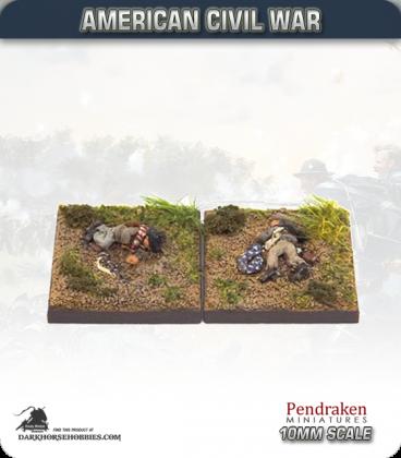 10mm American Civil War: Confederate Casualties