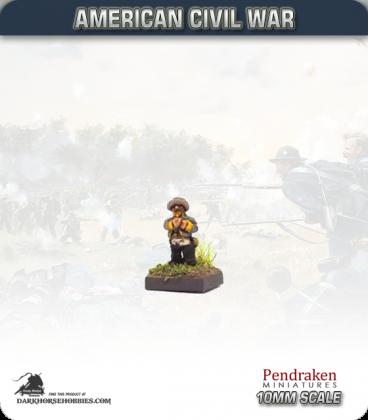 10mm American Civil War: Confederate Horse Holders