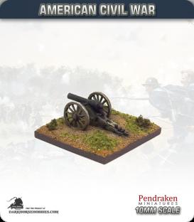 10mm American Civil War: 20lb Parrot Guns