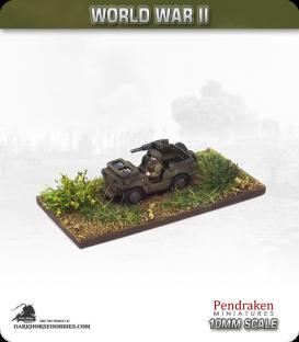 10mm World War II: British - Jeep pack