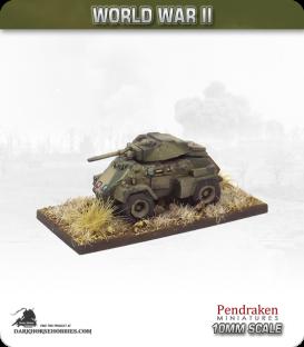10mm World War II: British - Humber Mk IV Armoured car
