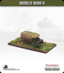 10mm World War II: British - Armoured Ambulance UC