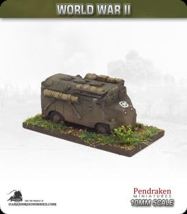 10mm World War II: British - Dorchester Command vehicle