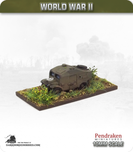 10mm World War II: British - Early-war Quad
