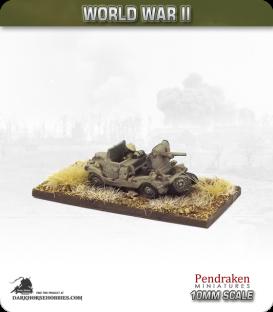 10mm World War II: British - 2pdr Portee