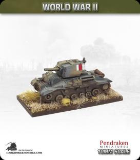 10mm World War II: British - A10 Mk Ia CS / Cruiser Mk IIa CS Infantry tank