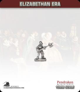 10mm Elizabethan: Halberdiers