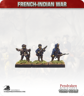 10mm French-Indian War: Compagnies Franches de La Marine in Summer Uniform