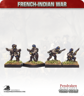 10mm French-Indian War: Compagnies Franches de La Marine in Wilderness Campaign