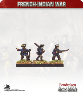10mm French-Indian War: Troupe de Terre in Campaign