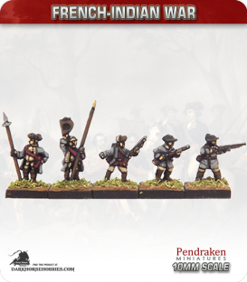 10mm French-Indian War: Provincials Campaign Dress