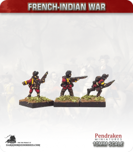 10mm French-Indian War: Light Infantry (Amherst's/Wolfe's reforms)