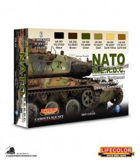 Lifecolor NATO MERDC Set