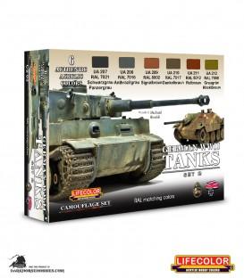 Lifecolor German WWII Tanks Set 2