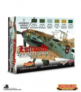Lifecolor German WWII Luftwaffe Set 1