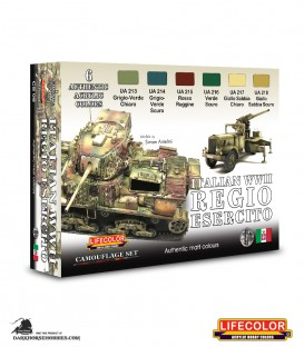 Lifecolor Italian WWII Regio Esercito Set