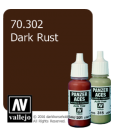 Vallejo Model Colors - Panzer Aces: Acrylic Paint - Dark Rust (17ml)