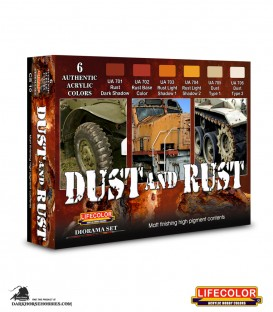 Lifecolor Rust and Dust Set