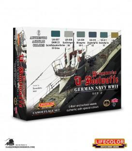 Lifecolor German WWII Kriegsmarine Set 2
