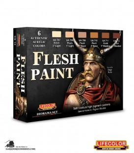 Lifecolor Flesh Tone Set