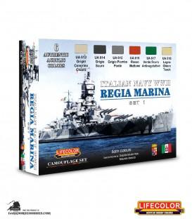 Lifecolor Italian Regia Marina Set 1