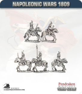 10mm Napoleonic Wars (1809): French Empress Dragoons