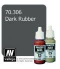 Vallejo Model Colors - Panzer Aces: Acrylic Paint - Dark Rubber (17ml)