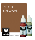 Vallejo Model Colors - Panzer Aces: Acrylic Paint - Old Wood (17ml)