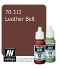 Vallejo Model Colors - Panzer Aces: Acrylic Paint - Leather Belt (17ml)