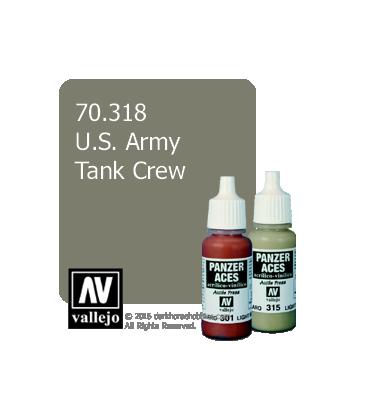 Vallejo Model Color: Panzer Aces - US. Army Tank Crew (17ml)