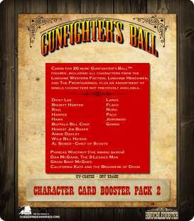 Gunfighter's Ball: Character Cards Booster Pack 2