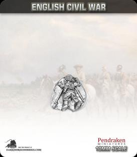 10mm English Civil War: Pikemen Casualty in Scots Bonnet