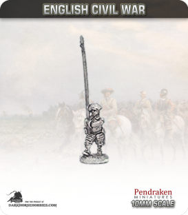 10mm English Civil War: Scots Armoured Pike - Advancing