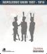 10mm Peninsular War (1807-1814): British Light Infantry - Firing (with command)
