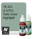 Vallejo Model Color: Panzer Aces - USMC Tank Crew Highlight (17ml)